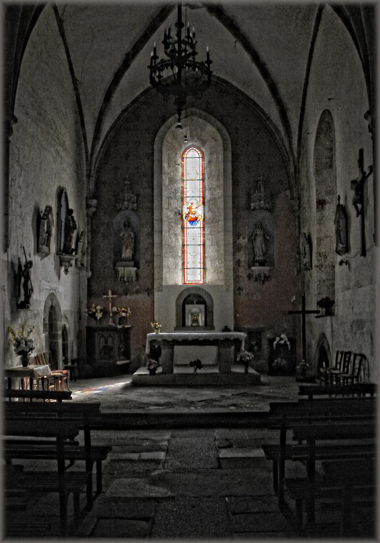 Kirche - Église Châtelus-Malvaleix (Limousin)