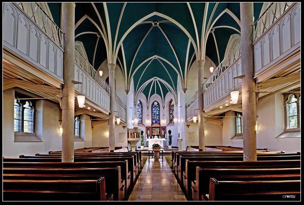 Kirche Herzkamp