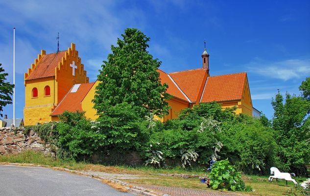 Kirche in Allinge (1)