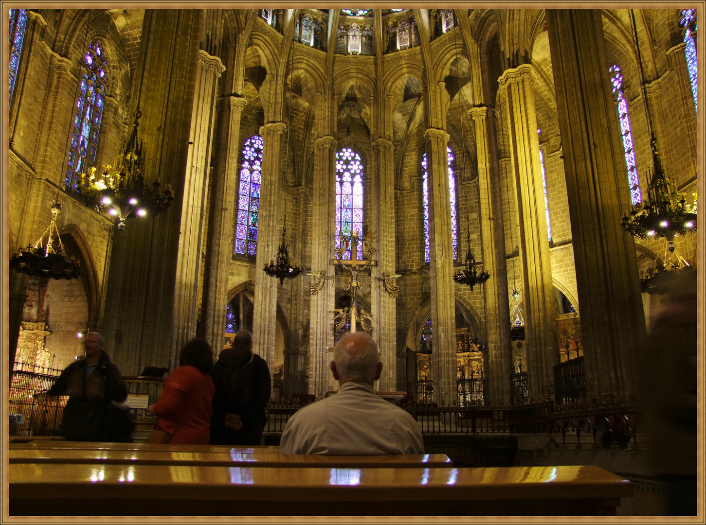Kirche in Barcelona