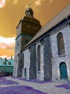 Kirche in Blau
