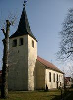 Kirche in Bottmersdorf, März 2003