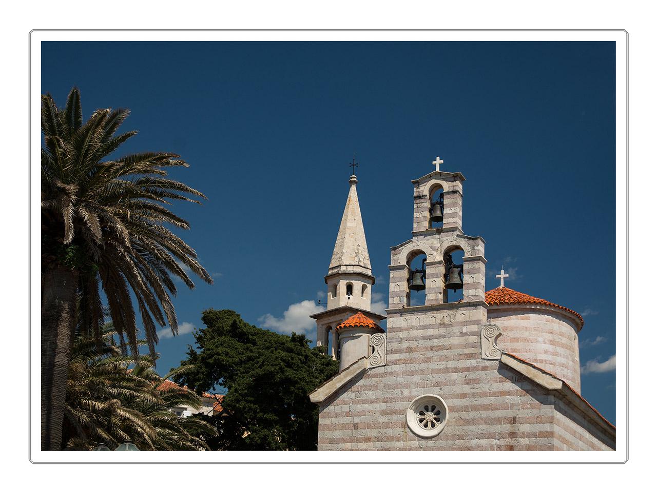 Kirche in Budvar - Montenegro