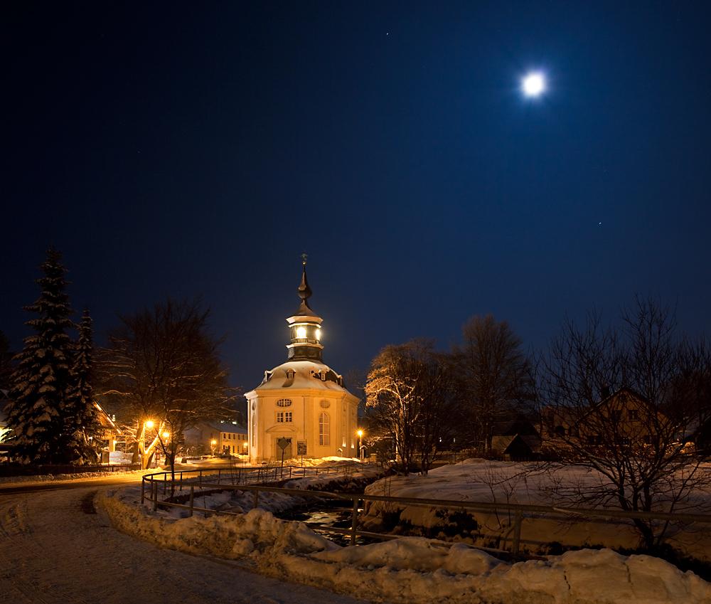 Kirche in Carlsfeld