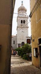 Kirche in der Altstadt von Krk auf der Insel Krk