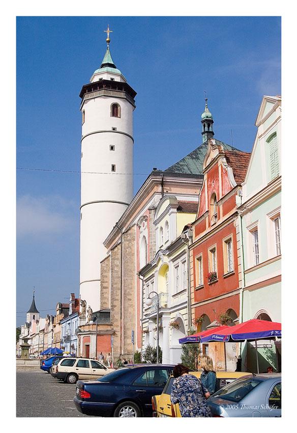 Kirche in Domazlice Tschechien