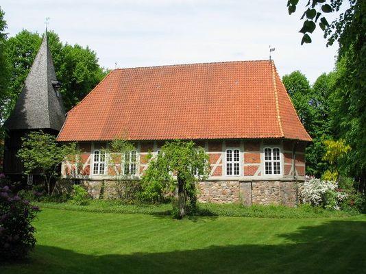 Kirche in Egestorf/Lüneburgerheide1