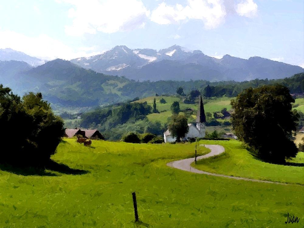 Kirche in Faulensee