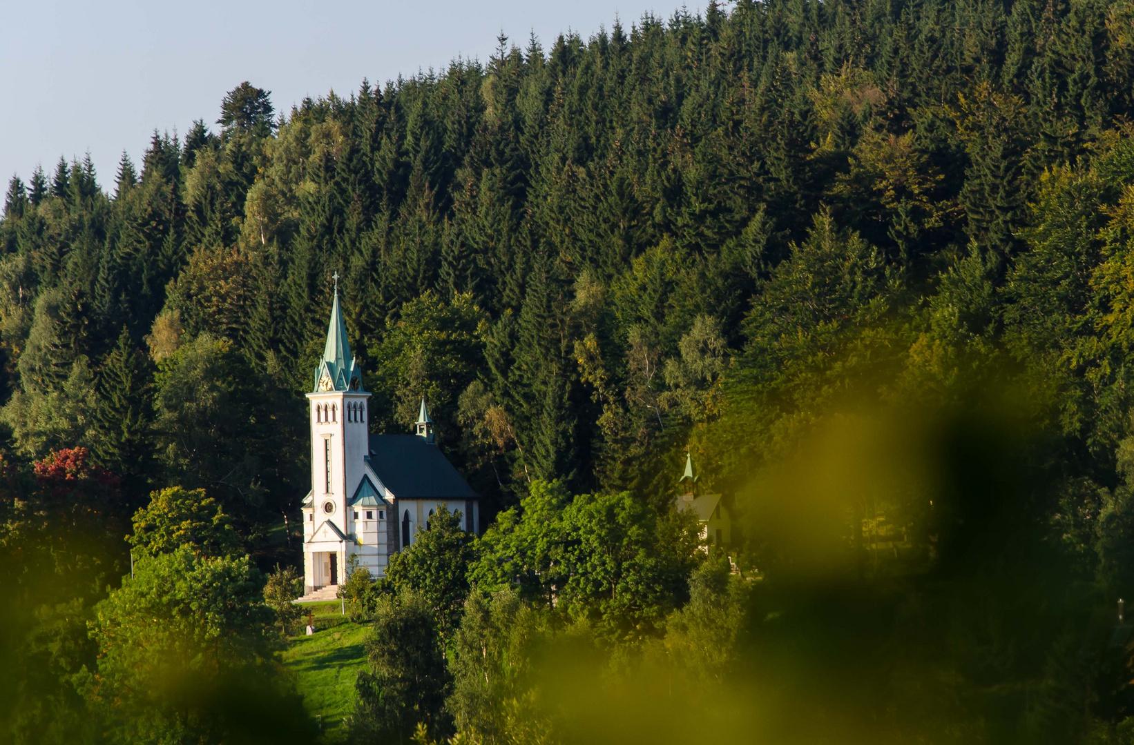 Kirche in Friedrichswald (Bedrichov)