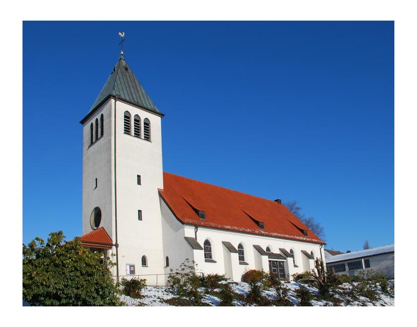 Kirche in Frohnhausen ...