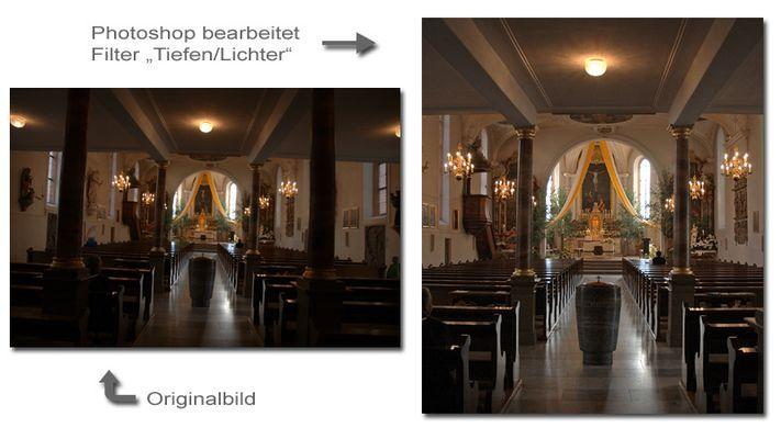"""Kirche in Hüfingen """"Innen"""""""