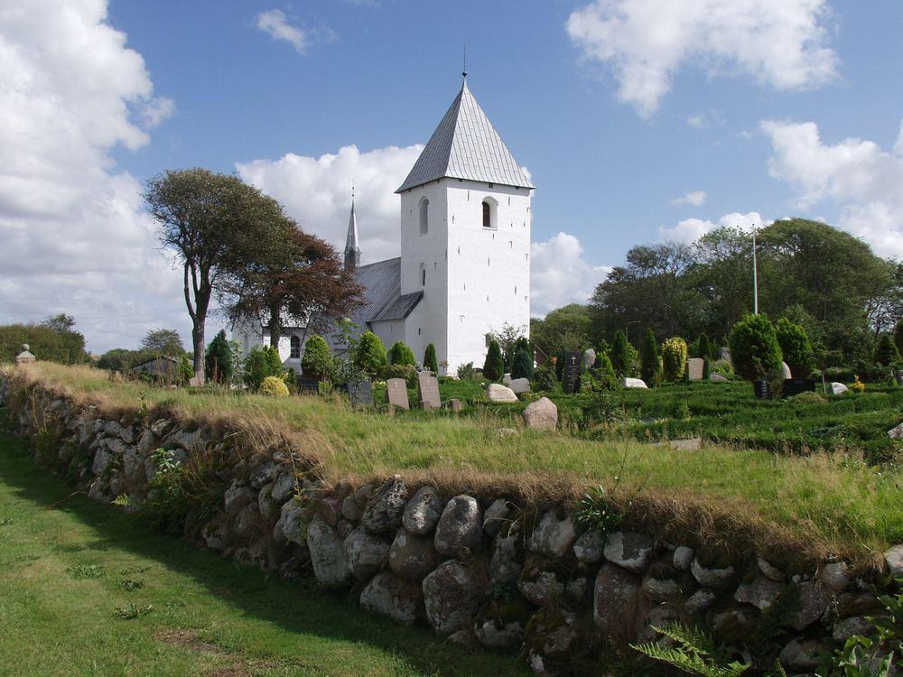 Kirche in Hurup (Dänemark)