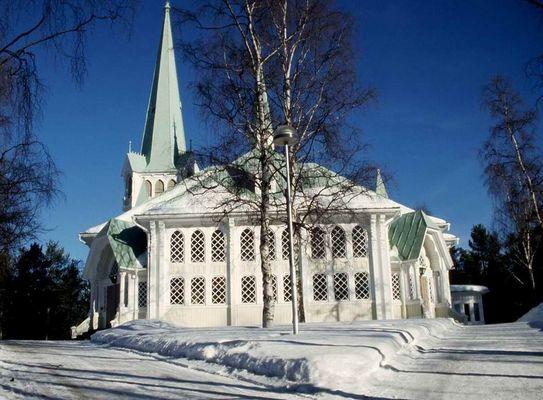 Kirche in Jokkmokk