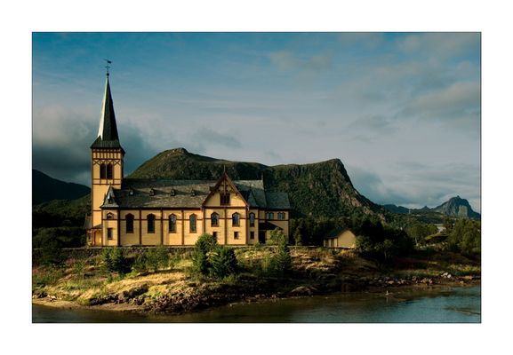 Kirche in Kabelvâg