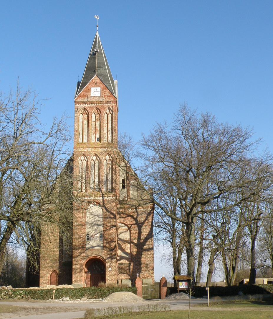 Kirche in Kenz bei Barth