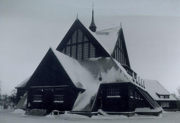 Kirche in Kiruna (Nordschweden)