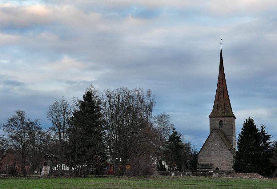 Kirche in Kleinschwarzenlohe