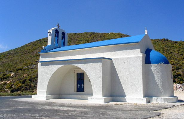 Kirche in Landesfarben