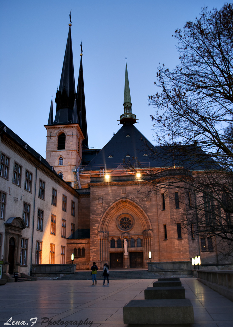 kirche in Luxembourg