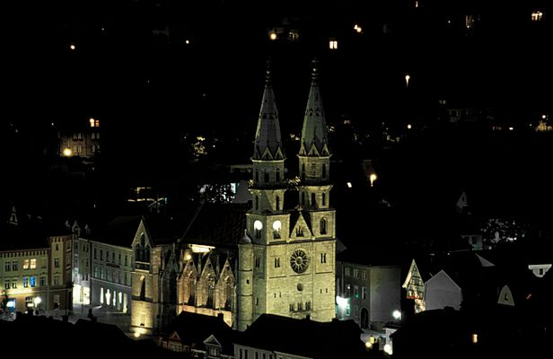 Kirche in Meiningen meine momentane Heimatstadt