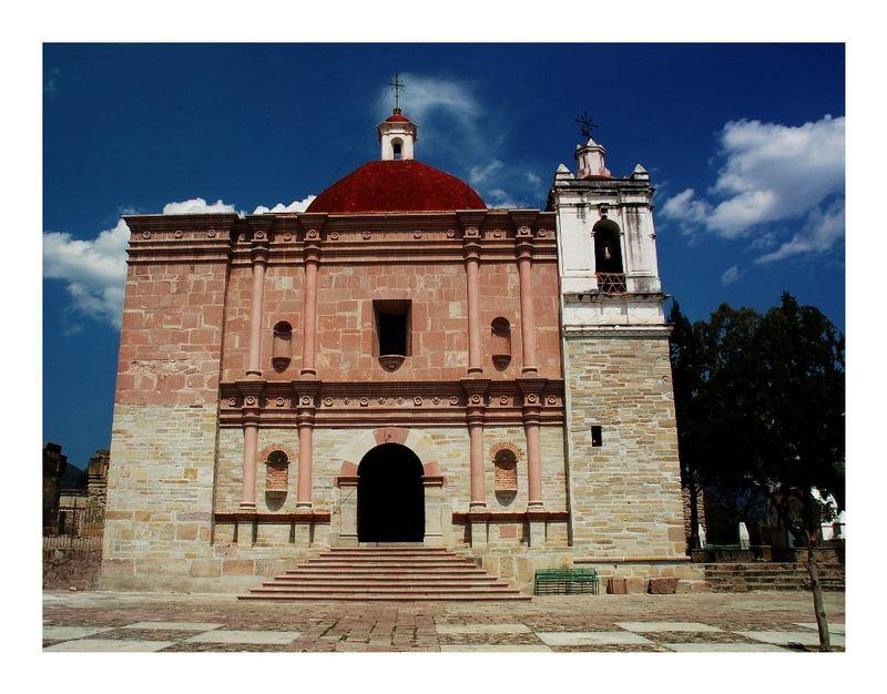 Kirche in Mitla