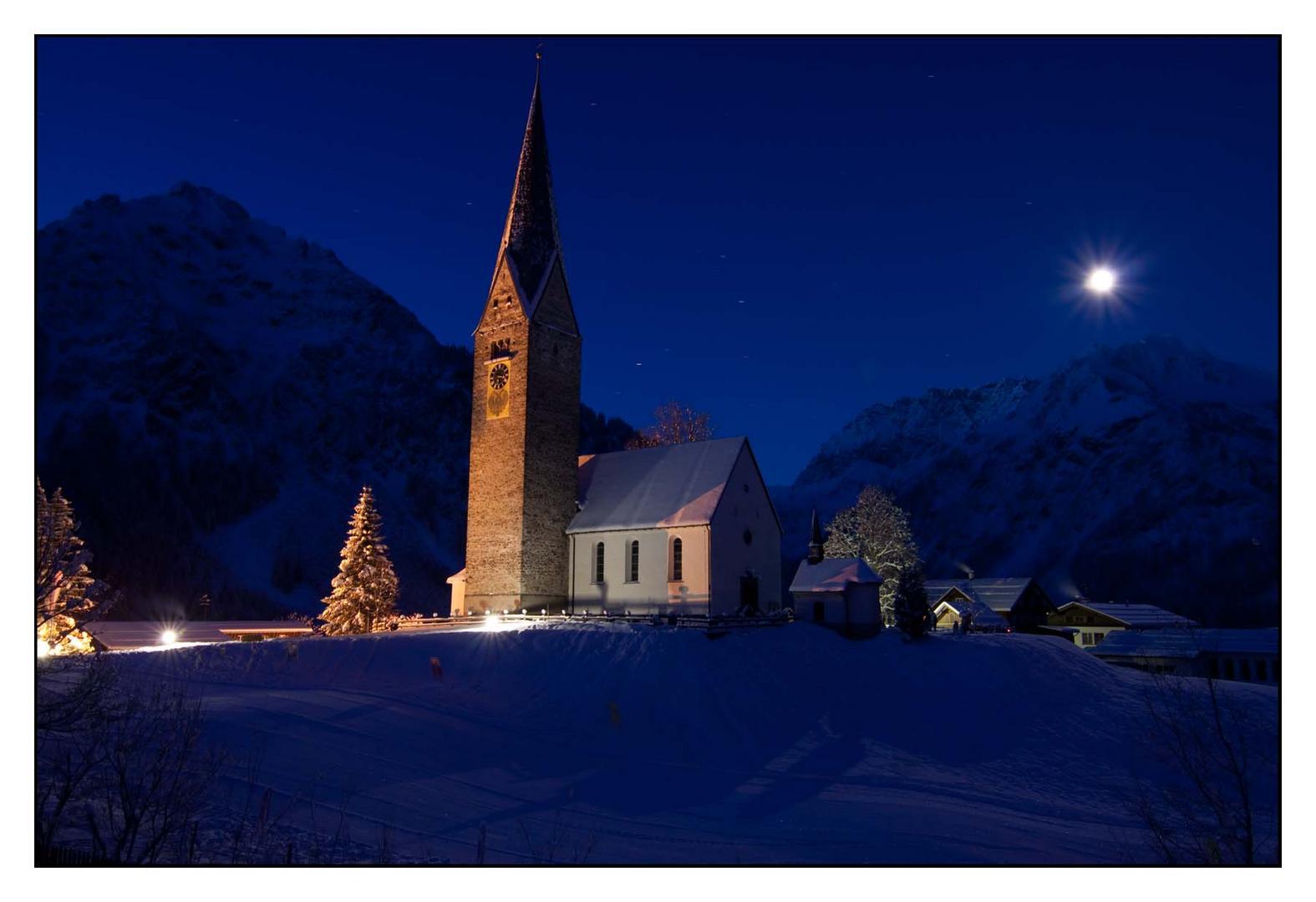 Kirche in Mittelberg