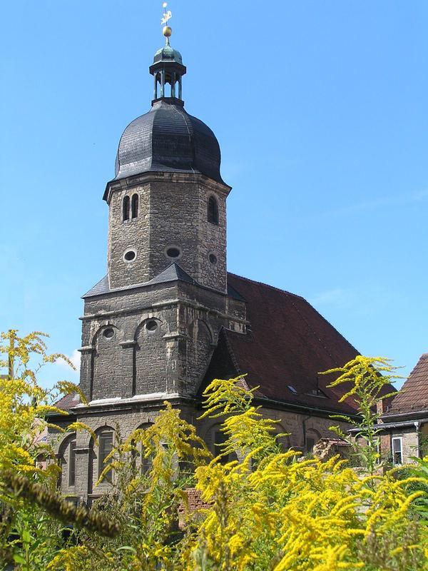 Kirche in Naumburg/Saale