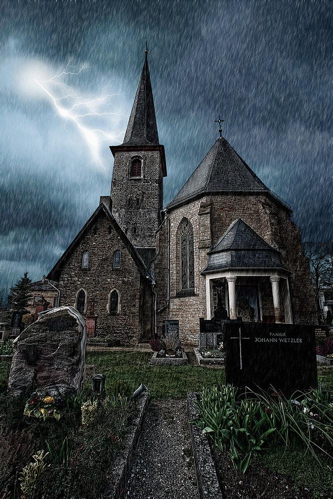 Kirche in Ober-Olm II - Reloadet