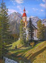 """""""Kirche in Obernberg / Brenner"""""""
