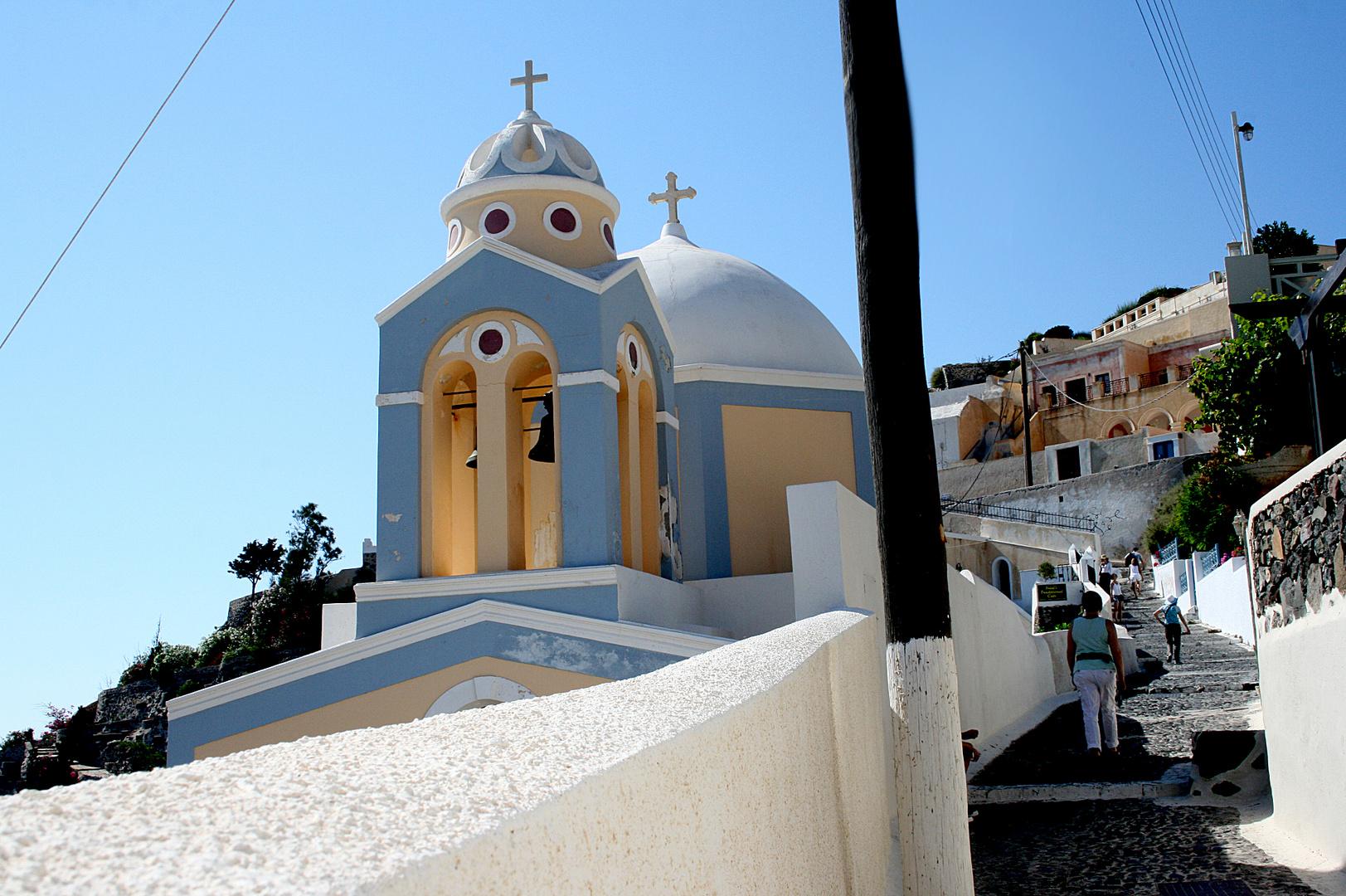 Kirche in Oia auf San Torini