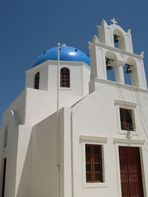 Kirche in Oia