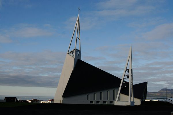 Kirche in Olafsvik, Island