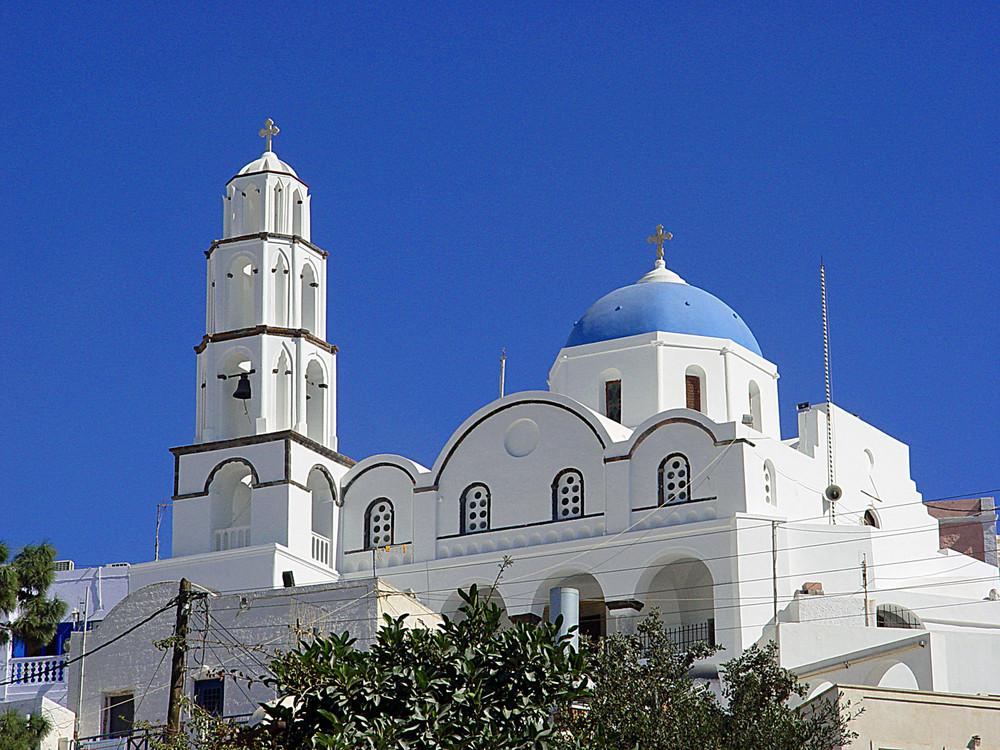 Kirche in Pyrgos (Santorini)