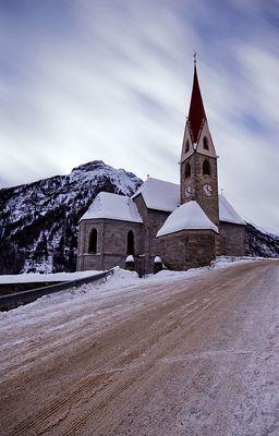 Kirche in Rein in Taufers, 7. Januar 2010
