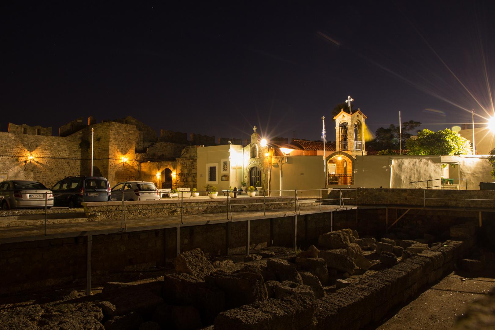 Kirche in Rhodos Altstadt