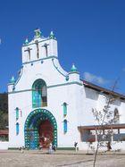 Kirche in San Chamula in Chiapas