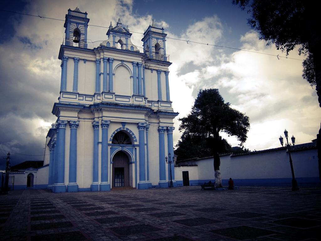 Kirche in San Critobal de las Casas, Mexiko