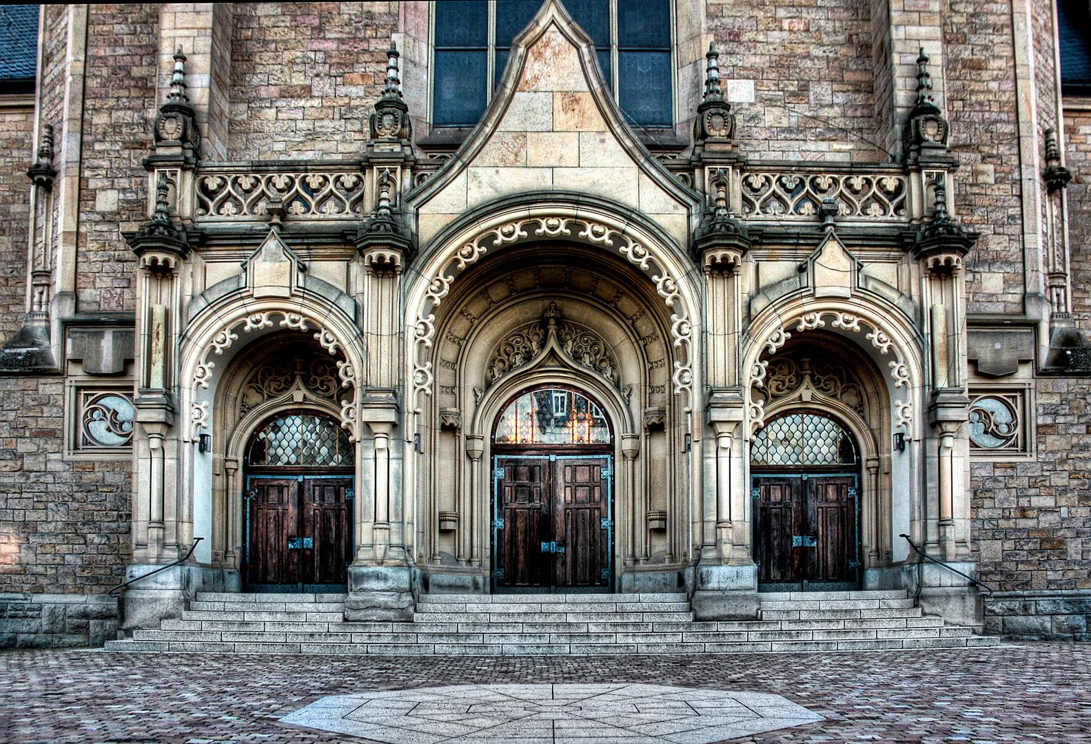 Kirche in Speyer HDR