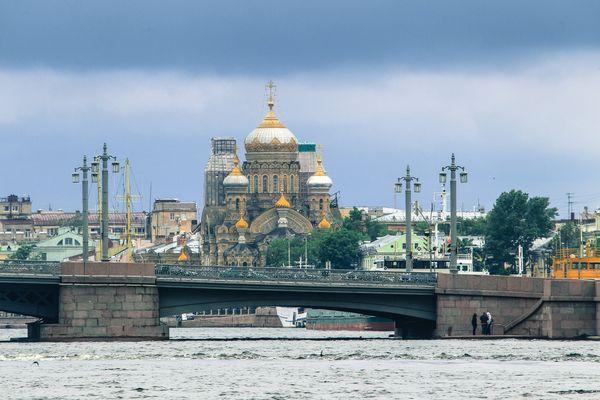 Kirche in St. Petersburg 4