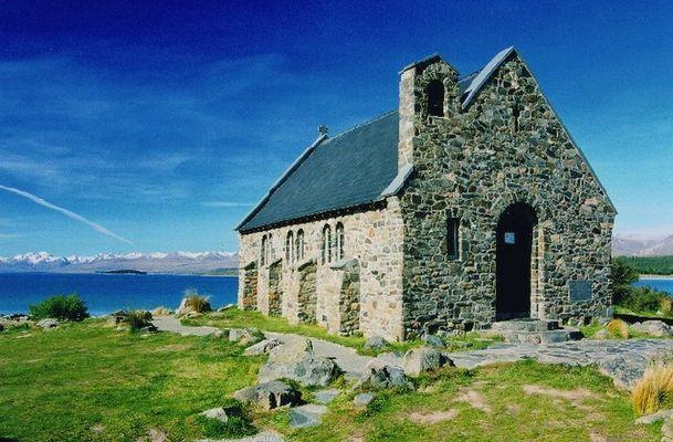 Kirche in Traumlage