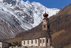 Kirche in Unser Frau im Schnalstal - Madonna di Senales