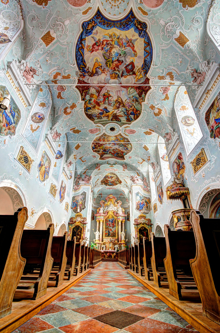 Kirche in Vornbach