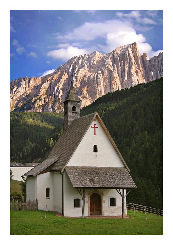 Kirche in Welschnofen
