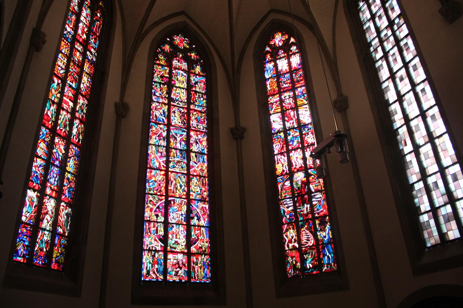 Kirche ingerdwo in Baden-Württemberg.