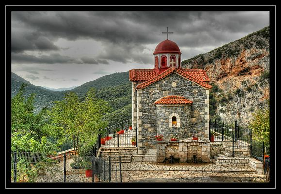 Kirche irgendwo auf dem Peleponnese
