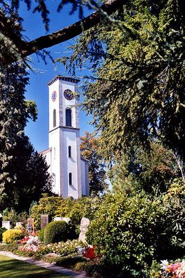 Kirche mit Friedhof (Rapperswil)