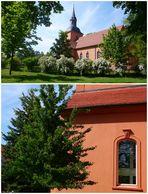 Kirche Ribbeck mit Birnbaum