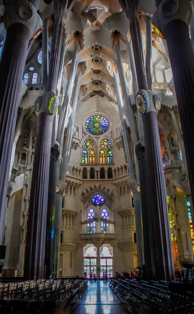Kirche Sagrada Familia in Barcelona