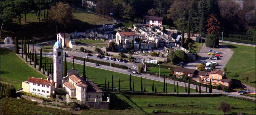 Kirche Santo Abbondio in Gentilino - Tessin