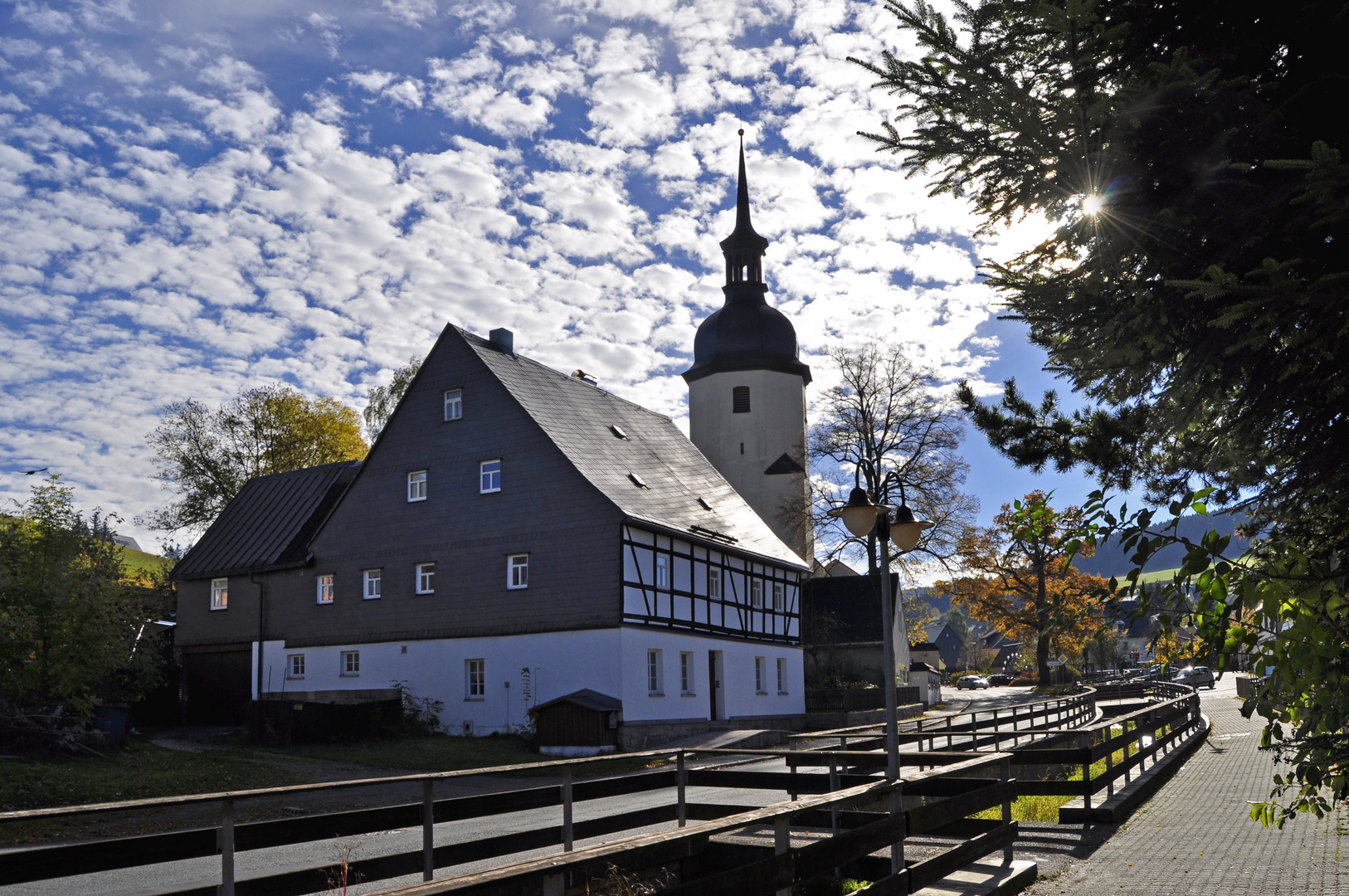 Kirche Sosa im Erzgebirge